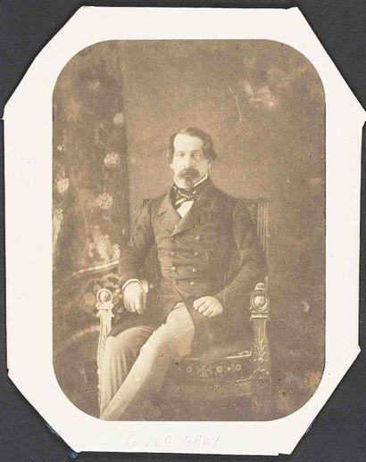 Gustave LE GRAY (1820-1884). Louis-Napoléon...