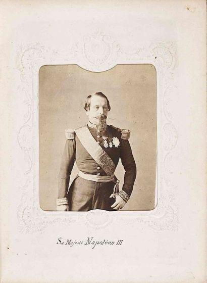 [ALBUM IMPÉRIAL]. Napoléon III et les membres...