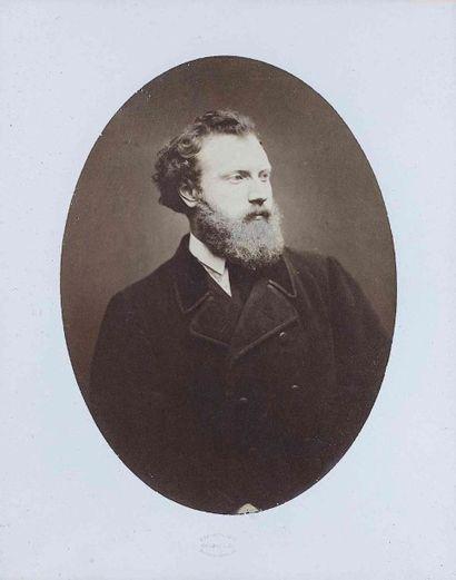 Étienne CARJAT (1828-1906). Édouard Manet...