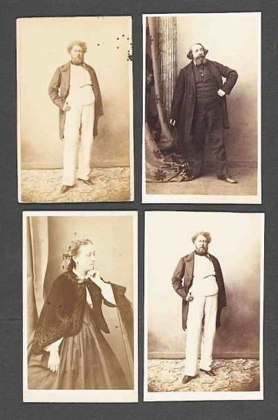 Gustave LE GRAY (1820-1884). Alexandre Dumas...