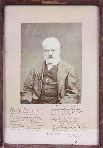 Étienne CARJAT (1828-1906). Victor Hugo,...