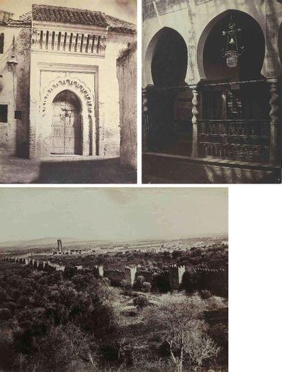 [ALGÉRIE et CÈDRES]. Types et paysages. Algérie....