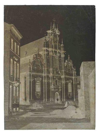[BELGIQUE]. Église Saint-Jean-Baptiste-au-beguinage...
