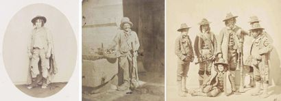 Luigi CRETTE (1823-1872) et divers photographes....