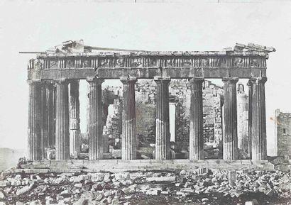 Eugène PIOT (1812-1890). Le Parthénon, vue...