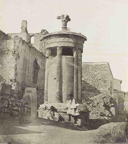 James ROBERTSON (1813-1888). Temple de Thésée...