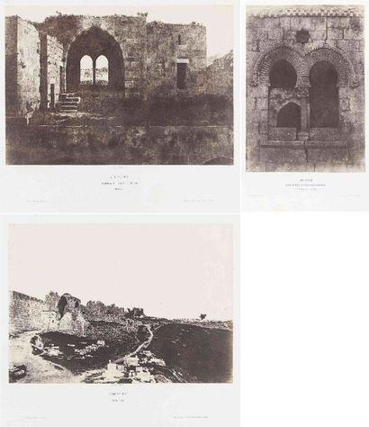 Auguste SALZMANN (1824-1872). Jérusalem :...