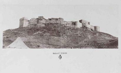 Louis de CLERCQ (1837-1911). Kalaat Tebnin...