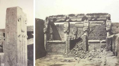 Félix TEYNARD (1817-1892). Égypte. 1851-1852....