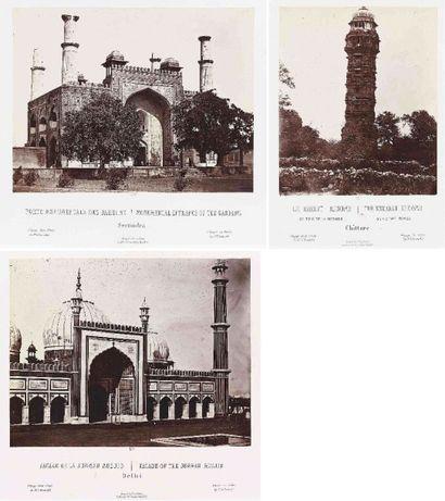 Louis ROUSSELET (1845-1929). Voyage in India...