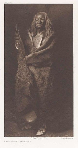 Edward Sheriff CURTIS (1868-1952). Black...
