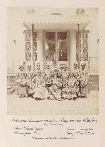 Eugène DISDERI (1819-1889). Les trois ambassadeurs...