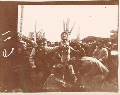 [Décapitation]. Indochine. 1900-1910. 6 épreuves...