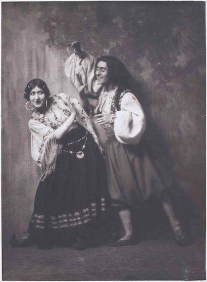 Marco CAMUZZI (1893-1964). Danseurs, danseuses,...