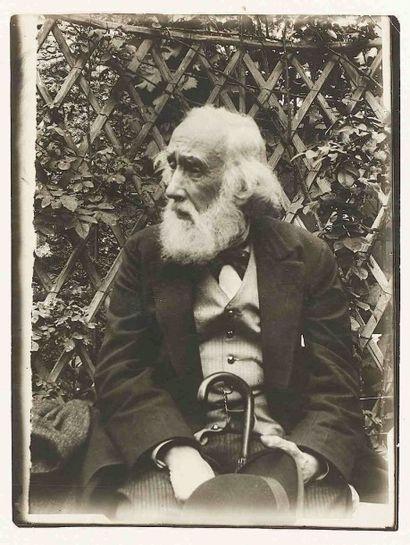 [Edgar DEGAS] (1834-1917). Portrait du peintre,...