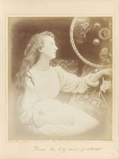 Julia Margaret CAMERON (1815-1879). Elaine,...
