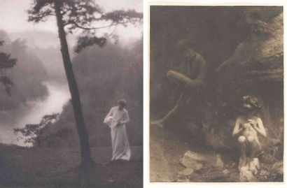 Clarence Hudson WHITE (1871-1925). Drops...