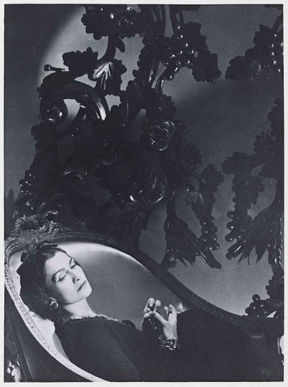 Horst P. HORST (1906-1999). Coco Chanel,...