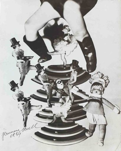 Germaine KRULL (1897-1985). Photomontage...
