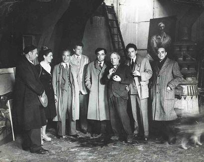 BRASSAÏ [Gyula Halász, dit] (1899-1984). Ortiz de Zarate, Françoise Gilot, Apelles...