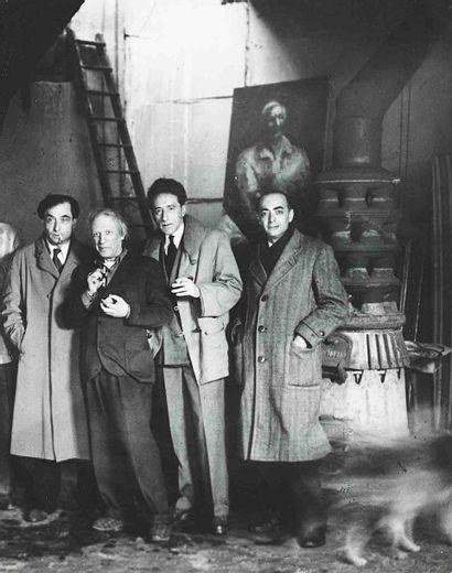 BRASSAÏ [Gyula Halász, dit] (1899-1984). Pierre Reverdy, Picasso, Jean Cocteau,...