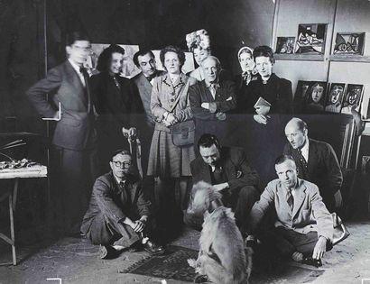 BRASSAÏ [Gyula Halász, dit] (1899-1984). Le Désir attrapé par la queue. Atelier...