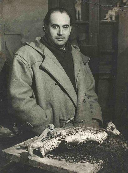 BRASSAÏ [Gyula Halász, dit] (1899-1984). René de Soli (écrivain), époux du sculpteur...