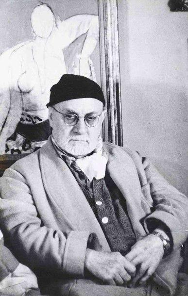 Gisèle FREUND (1908-2000). Henri Matisse....