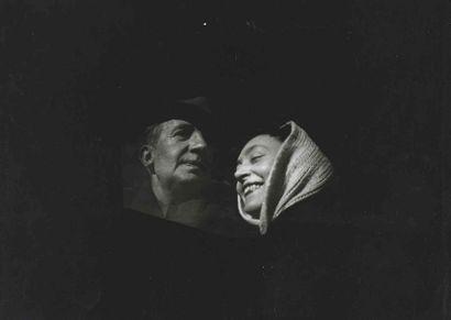 Jacques MATARASSO. Paul et Nush Éluard, portrait. Saint-Alban (Haute-Garonne). 1944....