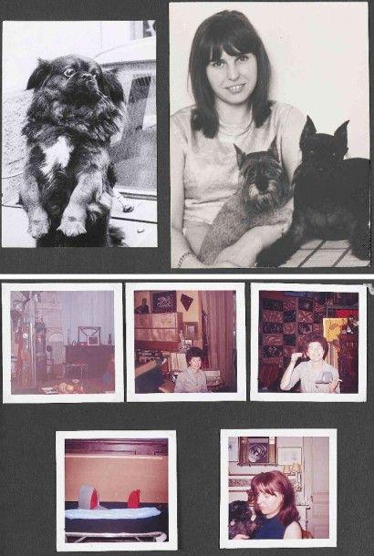 MAN RAY [Emmanuel Radnitzsky]- Chantal et Jean PETITHORY, libraires (1890-1976)....