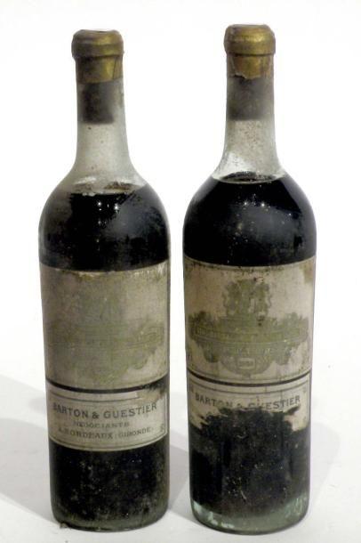 2 BLLES de Château Coutet Vin de Barsac de...