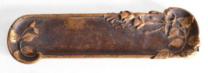 A. SADOUX (ciseleur d'art XIX-XXe). PLUMIER...