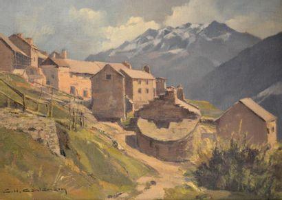 Charles Henry CONTENCIN (1898-1955) Ventelon,...