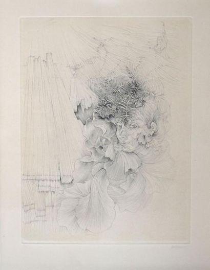 Hans BELLMER (1902-1975) la danseuse, 1968...