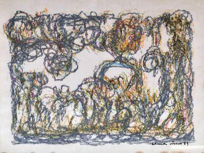 Claude VISEUX (1927-2008) Composition, 1959...