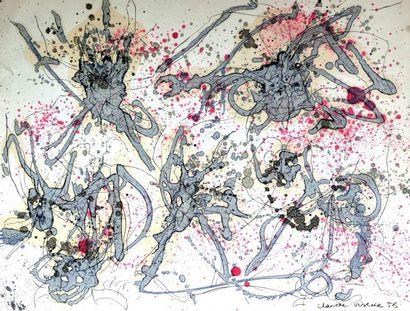 Claude VISEUX (1927-2008) Composition, 1956...