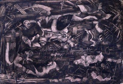 Eugène GABRITSCHEVSKY (1893-1979) Composition,...