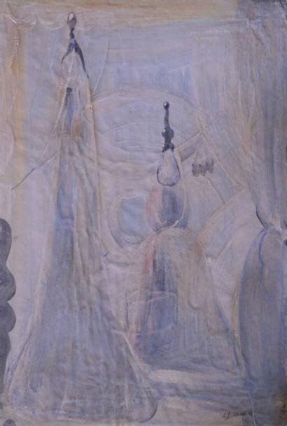 Eugène GABRITSCHEVSKY (1893-1979) Mannequins...