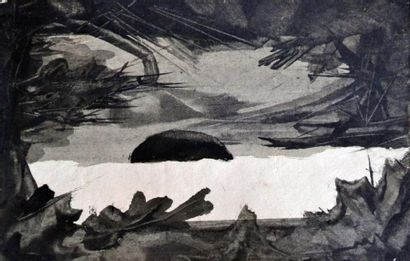 Eugène GABRITSCHEVSKY (1893-1979) Composition...