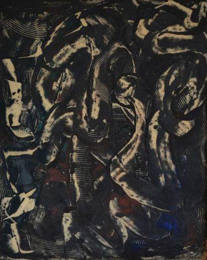 Yolande FIEVRE (1907-1983) Maldoror. Technique...
