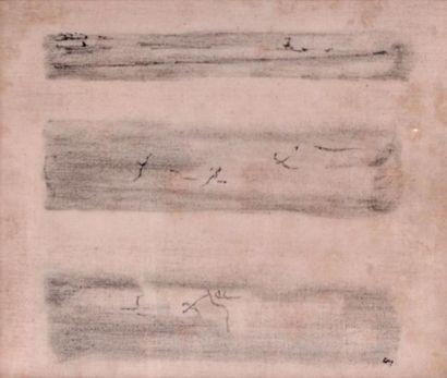Henri MICHAUX (1899-1984) Sans tître, 1961...