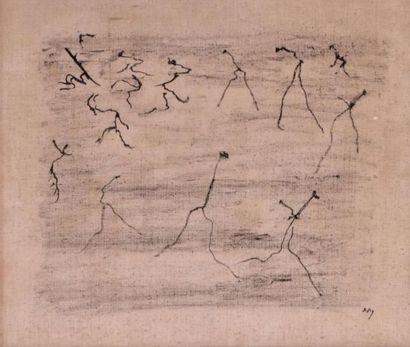 Henri MICHAUX (1899-1984) Sans tître,1961...