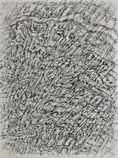 Henri MICHAUX (1899-1984) Dessin mescalinien,...