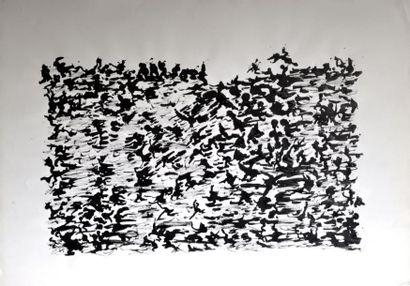 Henri MICHAUX (1899-1984) Sans titre, V 1960...