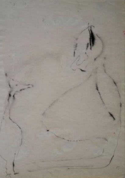 Henri MICHAUX (1899-1984) Sans titre, 1948...