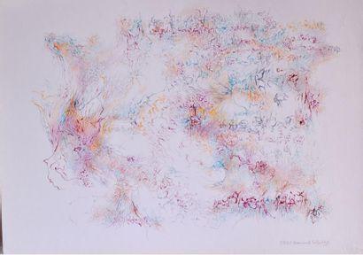 Bernard SCHULTZE (1915-2005) Composition...
