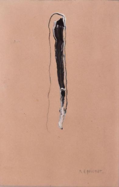 Bernard REQUICHOT (1907-1994) Composition...
