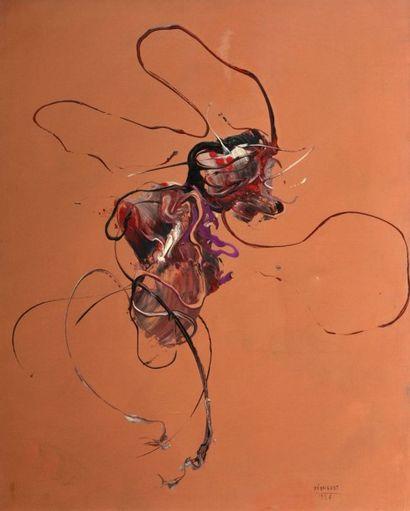 Bernard REQUICHOT (1907-1994) Peinture, 1956...