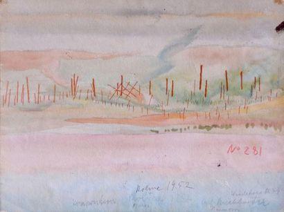 Carl BUCHHEISTER (1890-1964) Composition,...
