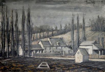 Bernard BUFFET (1928-1999) Environs de Saint...